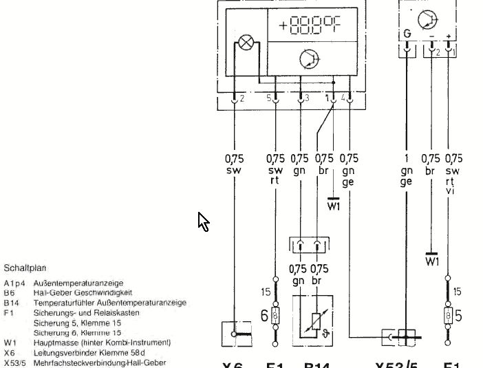 W126 Mercedes Instrument Cluster Wiring Diagram. Mercedes